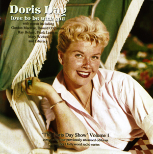 "Cover of CD ""Doris Day - Love to Be With You"" showing Doris looking perky and wholesome but slightly seductive"